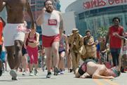 "Paramount ""Slow mo marathon"" by Droga5 London"