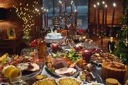 """Marks & Spencer """"banquet"""" by Rainey Kelly Campbell Roalfe/Y&R"""