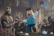 "Tetley ""Tetley medieval"" by Creature London"