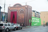 Paddy Power taunts Catholic Church with giant drive-thru confession box