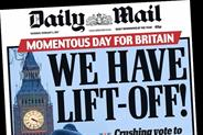 Daily Mail publisher sets aside £20m in advertising rebates