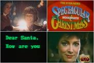 Oh, the '80s were pretty frightful, but the festive ads just delightful