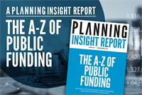 The A-Z of planning and infrastructure funding