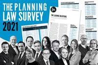 Britain's best planning lawyers and biggest planning law firms