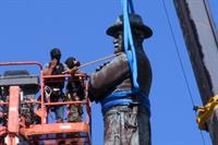 Permission to remove unlisted statues only needed for those at least ten years old, new guidance reiterates
