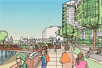Housing association lodges plans for 1,300-home mixed-use south London scheme