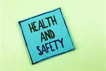 Health and safety checklist