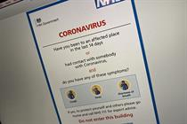 Advice on communicating with patients about coronavirus