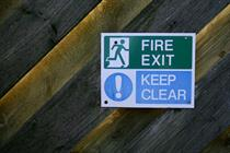 Fire safety for GP practices