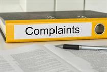 Managing patient complaints