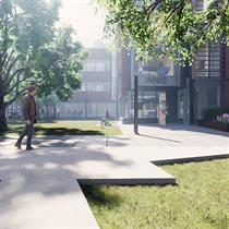 2021 WAN Awards entry: University of Toronto Innis College Addition and Renovation - Montgomery Sisam Architects Inc.