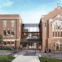 2021 WAN Awards entry: St. John Henry Newman Catholic Secondary School - Montgomery Sisam Architects Inc.