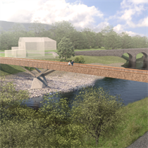 Knight Architects and WSP bridge wins planning go-ahead