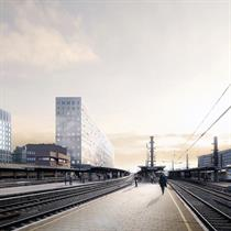 OMA / Reinier de Graaf Wins Competition for the new headquarters of Belgium's national railway