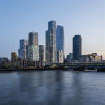 Eastern Yards: part of a new riverside neighbourhood in London's Bankside