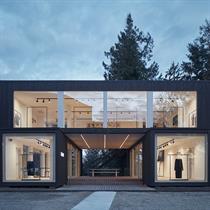 ARK: the modular showroom for GAB