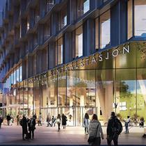 Third largest city in Norway constructing a new sustainable central station
