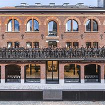 Warehouse bones transformed into HQ Bins Architects