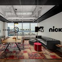 Perkins and Will unveil capsule of creativity within Viacom HQ