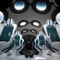Virgin Galactic reveals cabin interiors for SpaceShipTwo