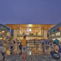 Foster + Partners reimagine China's first Apple store