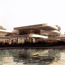 India's floating cascading terraces by Studio Symbiosis Architects