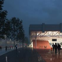 Chybik + Kristof Architects reaffirm social change in redesigned bus terminal
