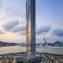 Aedas complete Zhuhai's tallest building and financial landmark