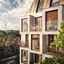 UNStudio and Bauwerk's prototype for Munich's urban living future