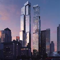 Toronto's mixed use two towers designed by Frank Gehry revealed