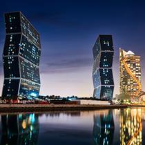 Qatar's new urban city of Lusail under development