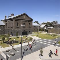 Aspect Studios transform Australia's former prison into public Piazza