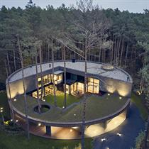 Circle Wood House: Mobius Architekci's home in the trees