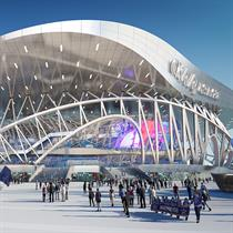 Coop Himmelb(l)au wins Russia's SCA Arena and Park competition