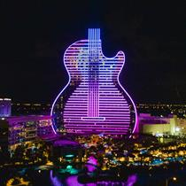 The world's first ever guitar-shaped hotel