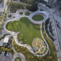 Downtown Dallas's Perfect Pacific Plaza Park