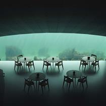 Tap into the first under-water restaurant's 3D wonder