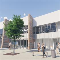 All work and then play: work underway on the new Norfolk leisure centre