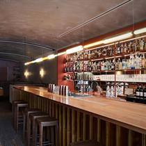 Australia's rooftop cocktail bar's cosy design