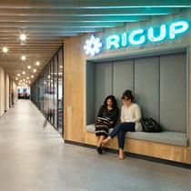 RigUp's new Texas office space with a touch of home