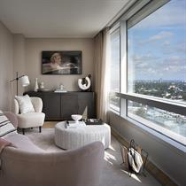 Design team duo's new £2.7million apartments for London's Canaletto Tower