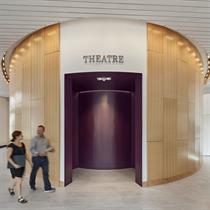 Historic train depot transforms into arts centre