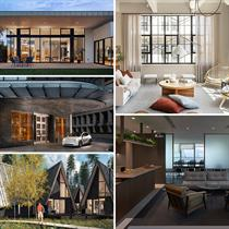 September interiors: the tallest residential building in New England, Skylab's A-Frame Club in Colorado and Hong Kong's Can Office