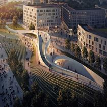 Zaha Hadid Architects and A_Lab to design Oslo stations