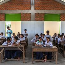 WW+P goes back to school in Cambodia