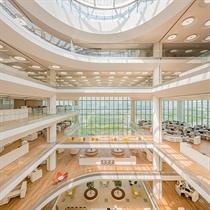 Foster + Partners egalitarian design of South Korea's Hankook Technoplex HQ