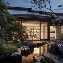 Villa Smriti Curtilage: T.K. Chu Design's courtyard encompassing Chinese 'duality'