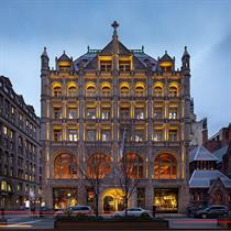 Former NY church turned flagship for Swedish photography earns preservation honors