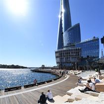 Grant Associates' waterfront walkway for Sydney's Watermans Cove