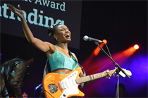 Noisettes vocalist stars at Americana Music Association UK Awards